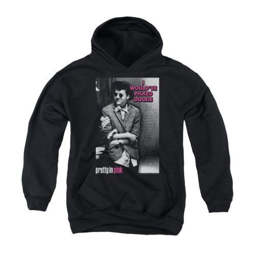 Image for Pretty in Pink Youth Hoodie - I Would've