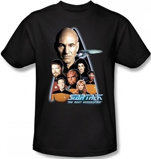Image for Star Trek the Next Generation T-Shirt - Crew