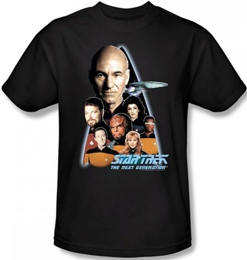 Image for Star Trek the Next Generation T-Shirt - Crew