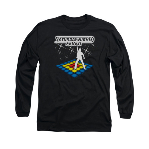 Image for Saturday Night Fever Long Sleeve T-Shirt - Should Be Dancing
