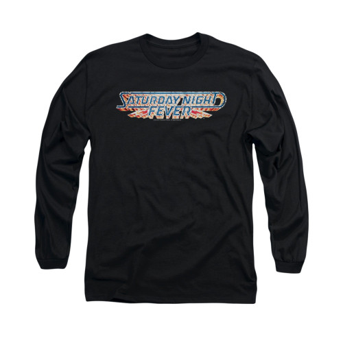 Image for Saturday Night Fever Long Sleeve T-Shirt - Logo