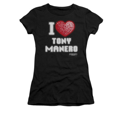 Image for Saturday Night Fever Girls T-Shirt - I Heart Tony
