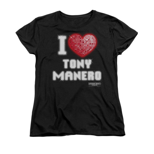 Image for Saturday Night Fever Woman's T-Shirt - I Heart Tony