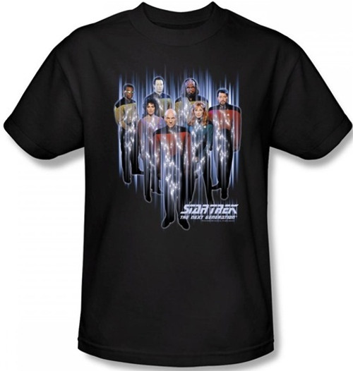 Image for Star Trek the Next Generation T-Shirt - Beam Us Up