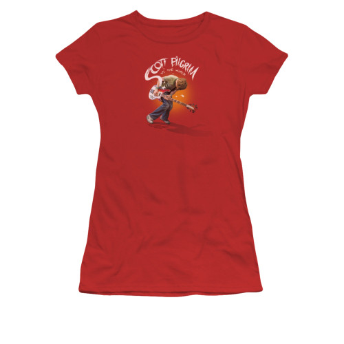 Image for Scott Pilgrim vs. The World Girls T-Shirt - Scott Poster