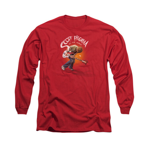 Image for Scott Pilgrim vs. The World Long Sleeve T-Shirt - Scott Poster