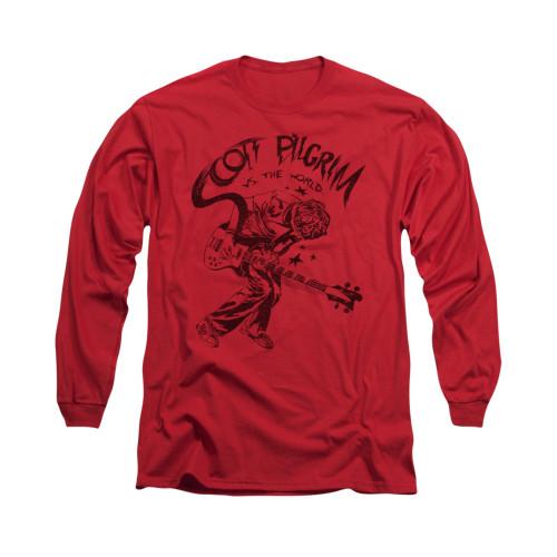Image for Scott Pilgrim vs. The World Long Sleeve T-Shirt - Rockin'
