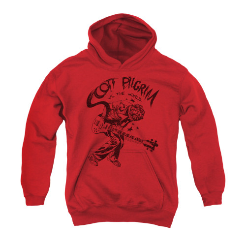 Image for Scott Pilgrim vs. The World Youth Hoodie - Rockin'