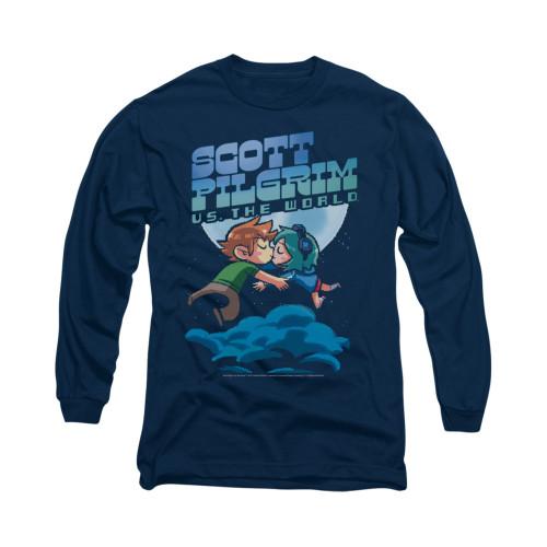 Image for Scott Pilgrim vs. The World Long Sleeve T-Shirt - Lovers