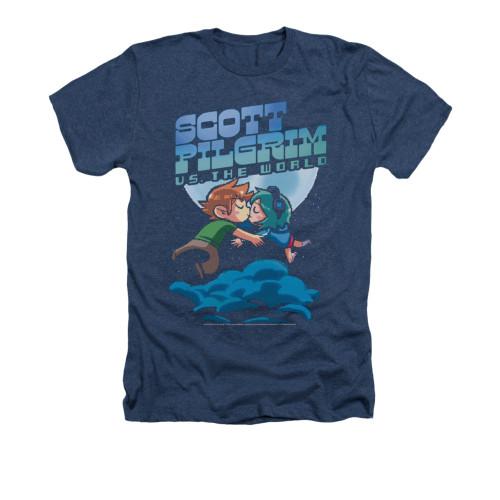 Image for Scott Pilgrim vs. The World Heather T-Shirt - Lovers