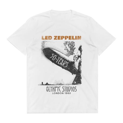 Image for Led Zeppelin T-Shirt - Blimp 50 Years