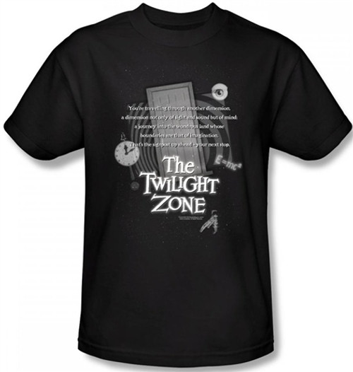 Image for Twilight Zone Monologue T-Shirt