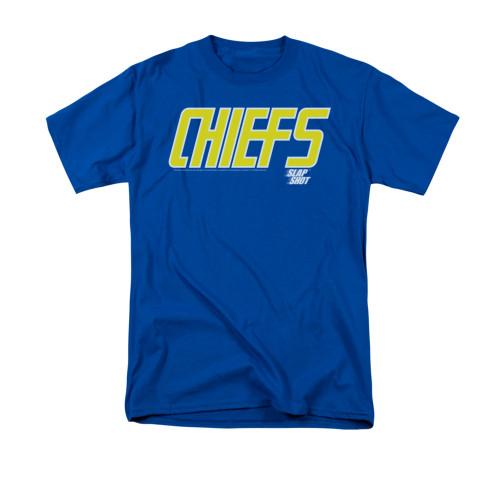 Image for Slap Shot T-Shirt - Chiefs Logo