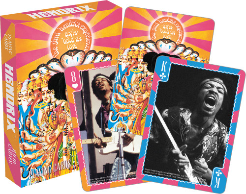 Image for Jimi Hendrix Playing Cards