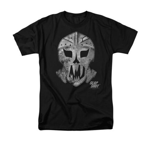 Image for Slap Shot T-Shirt - Goalie Mask