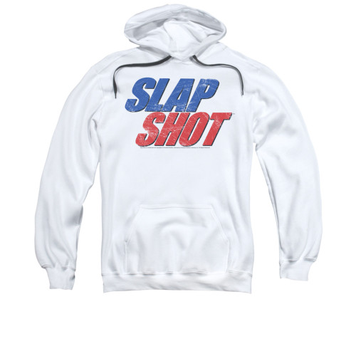 Image for Slap Shot Hoodie - Blue & Red Logo