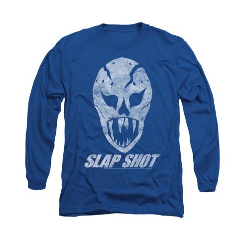 Image for Slap Shot Long Sleeve T-Shirt - The Mask