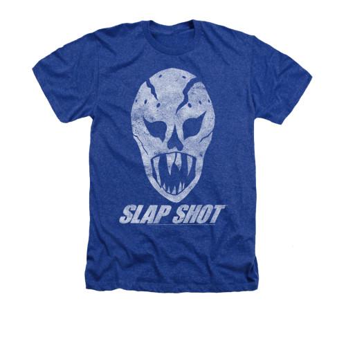 Image for Slap Shot Heather T-Shirt - The Mask