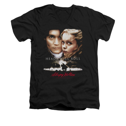 Image for Sleepy Hollow V-Neck T-Shirt - Heads Will Roll