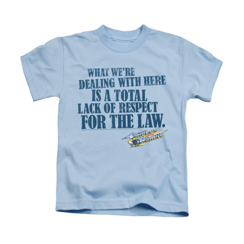 Image for Smokey and the Bandit Kids T-Shirt - Lack of Respect