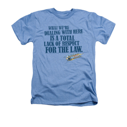 Image for Smokey and the Bandit Heather T-Shirt - Lack of Respect