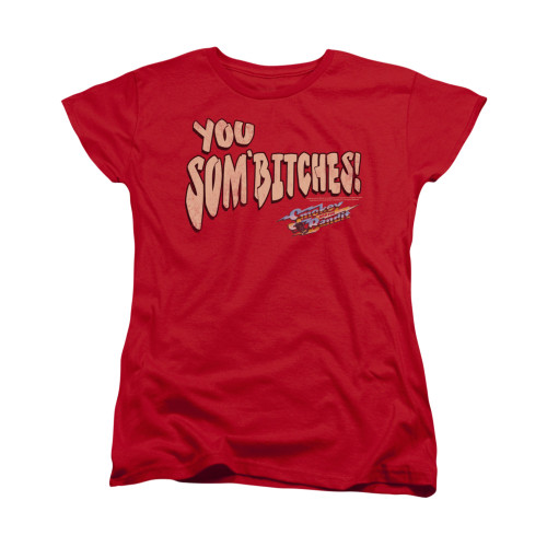 Image for Smokey and the Bandit Woman's T-Shirt - Sombitch