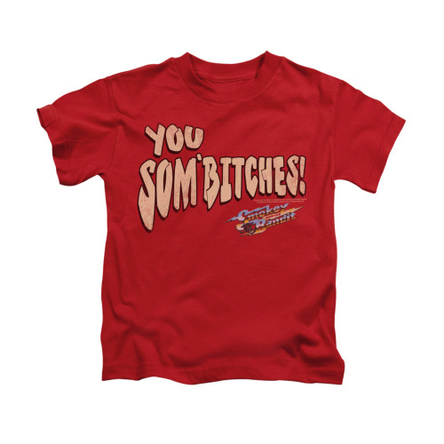 Image for Smokey and the Bandit Kids T-Shirt - Sombitch