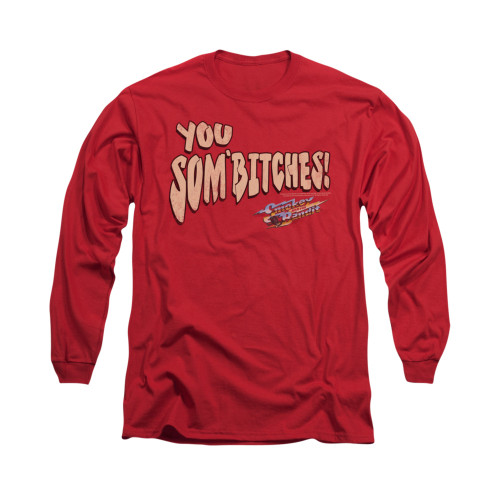 Image for Smokey and the Bandit Long Sleeve T-Shirt - Sombitch