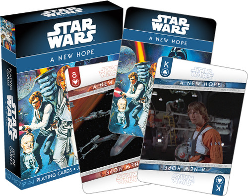 Image for Star Wars a New Hope Back Cards