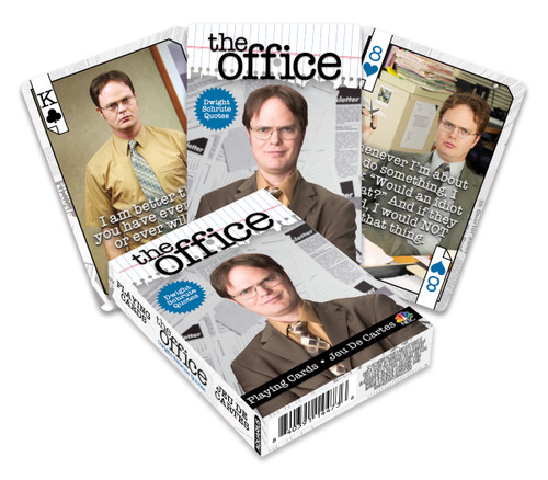 Image for The Office Dwight Playing Cards