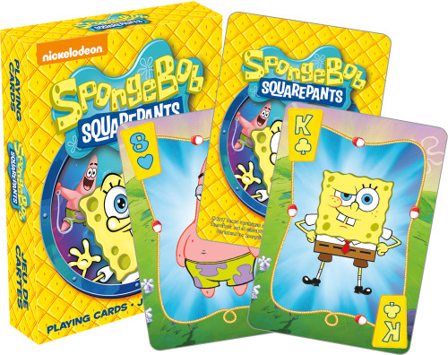 Image for Spongebog Squarepants Playing Cards