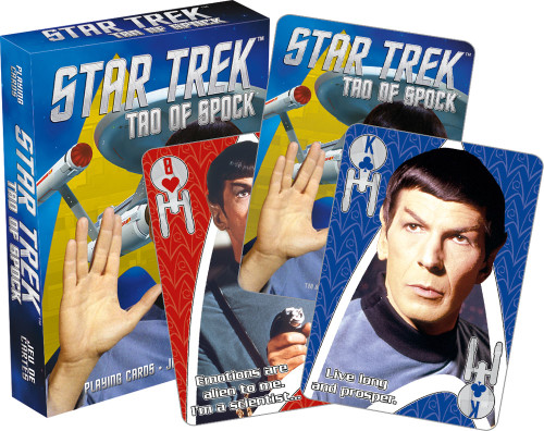 Image for Star Trek the Tao of Spock Playing Cards