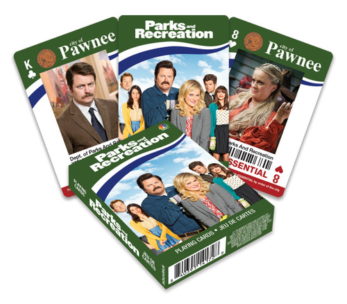 Image for Parks and Recreation Playing Cards