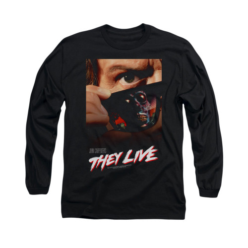 Image for They Live Long Sleeve T-Shirt - Poster