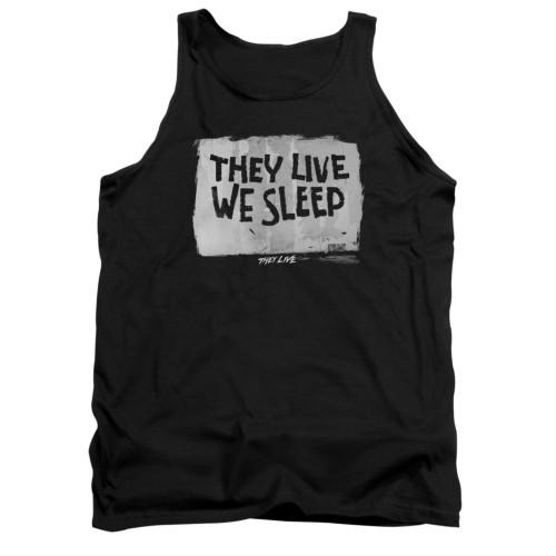 Image for They Live Tank Top - We Sleep