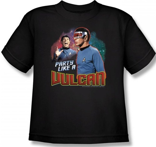 Image for Star Trek Youth T-Shirt - Party Like a Vulcan