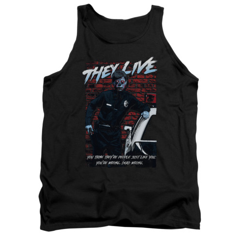 Image for They Live Tank Top - Dead Wrong