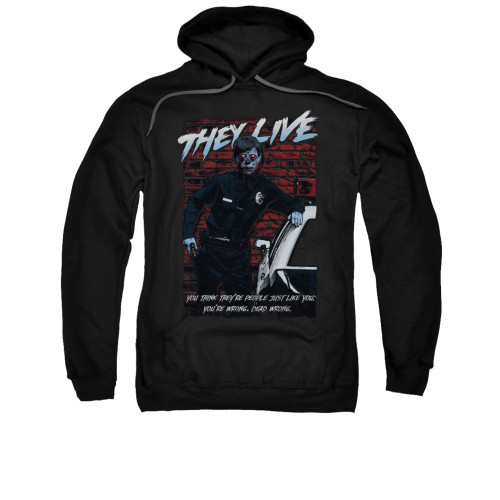 Image for They Live Hoodie - Dead Wrong