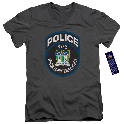 Image for New York City V Neck T-Shirt - Special Ops