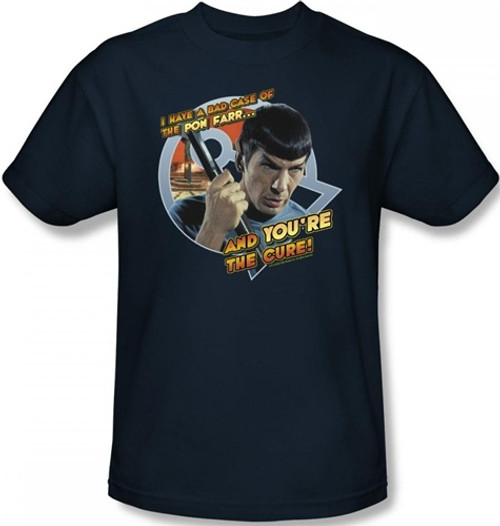 Image Closeup for Star Trek T-Shirt - Bad Case of the Pon Farr