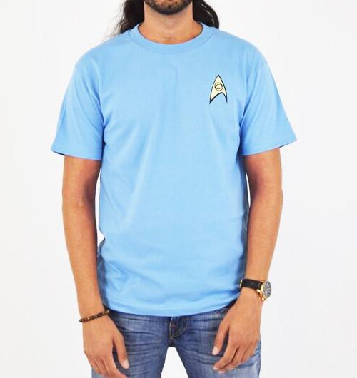 Image for Star Trek Uniform T-Shirt - Science