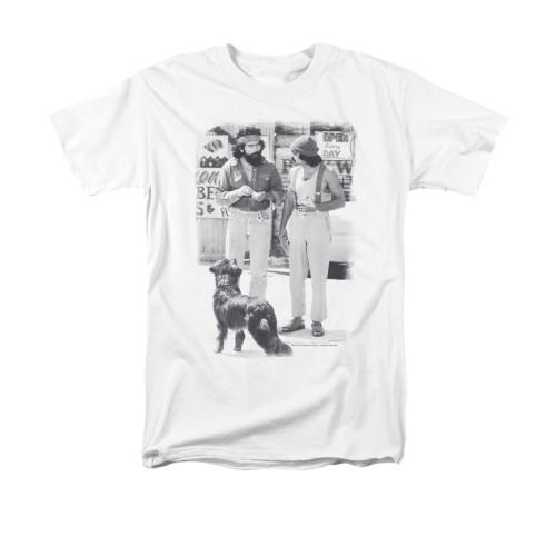Image for Up In Smoke T-Shirt - Cheech Chong Dog