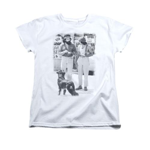 Image for Up In Smoke Woman's T-Shirt - Cheech Chong Dog