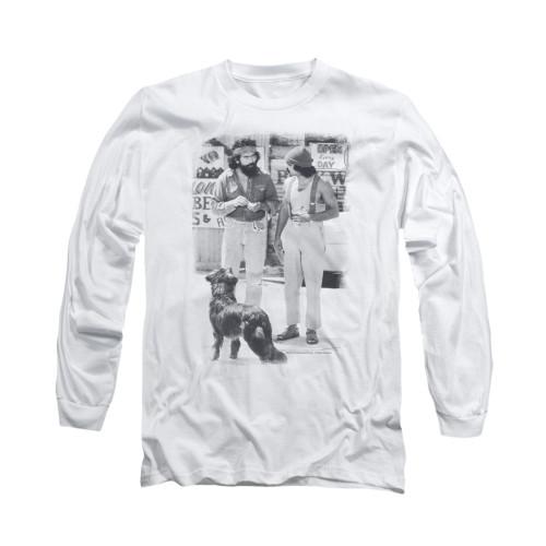 Image for Up In Smoke Long Sleeve T-Shirt - Cheech Chong Dog