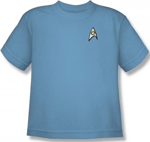 Image for Star Trek Uniform Youth T-Shirt - Science