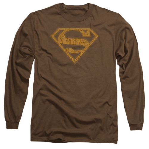 Image for Superman Long Sleeve T-Shirt - 60's Type Shield