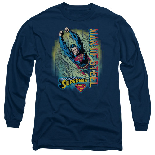 Image for Superman Long Sleeve T-Shirt - Breakthrough