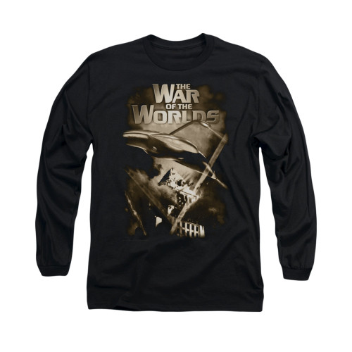 Image for War of the Worlds Long Sleeve T-Shirt - Death Rays