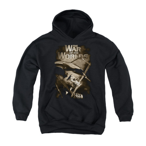 Image for War of the Worlds Youth Hoodie - Death Rays