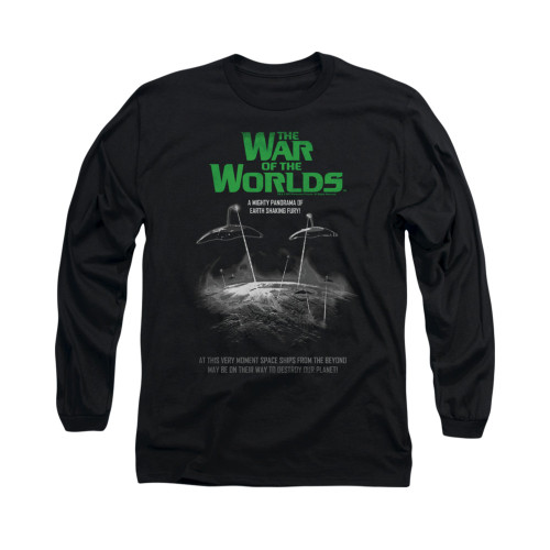 Image for War of the Worlds Long Sleeve T-Shirt - Attack Poster
